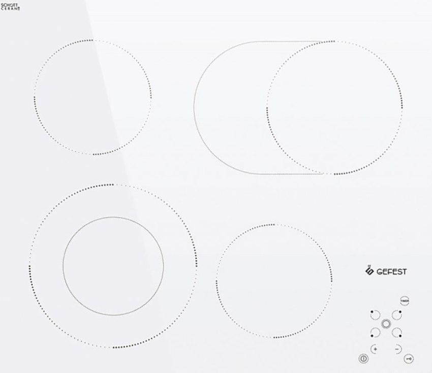 Поверхность моделей Сименс имеет инфракрасные датчики, способствующие быстрому процессу приготовления пищи