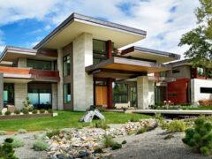 Дома в стиле хай-тек: современное пространство для смелых и креативных людей
