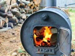 Печка из бочки: простой вариант организации отопления в гараже или подвале