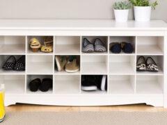 Полка для обуви в прихожую: важная деталь интерьера для комфортной жизни