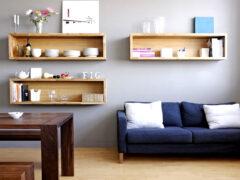 Полки на стену: какой вариант выбрать для самостоятельного изготовления