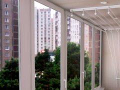 Потолочная сушилка для белья на балкон: преимущества перед другими моделями