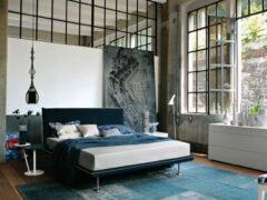 Спальня в стиле лофт: стильное, просторное и необычное помещение