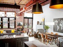 Стиль лофт в интерьере: максимум открытого пространства в квартире