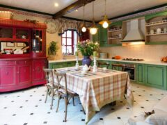 Кухня в стиле прованс: простой, но уютный средиземноморский интерьер