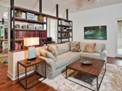 Стеллаж для комнаты: создание интерьера и организация пространства