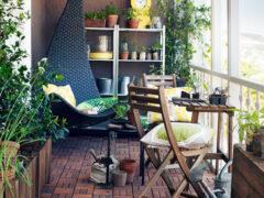 Стеллаж на балкон: надежный помощник организации пространства