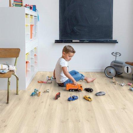 Виниловая плитка для пола в детской комнате