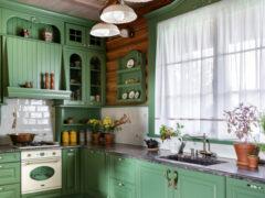 Короткие занавески на кухню: лаконичный и практичный способ украшения окна