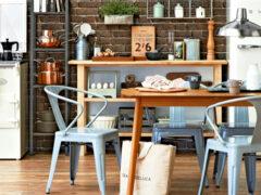Обои на кухню: многообразие цветовой палитры и дизайна настенного покрытия