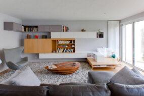 Стенка в гостиную в современном стиле: элегантный и функциональный элемент обстановки