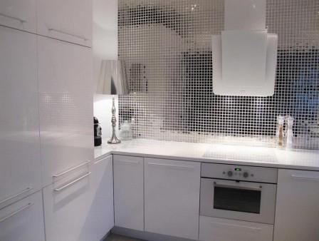 Оригинальное оформление кухонного фартука - 41 идея