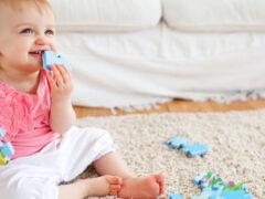 Ковер в детскую комнату: как объединить гигиеничность, комфортность и дизайн