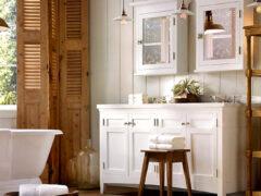 Мебель в ванную комнату: фото привлекательных и правильно оформленных помещений