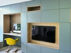 Стенка в спальню: как выбрать красивый и функциональный предмет мебели