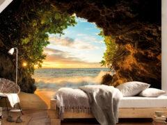 Фотообои в спальне: лучший способ придать комнате индивидуальный дизайн