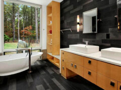 Шкаф в ванную: мебель, наполняющая комнату комфортом и красотой