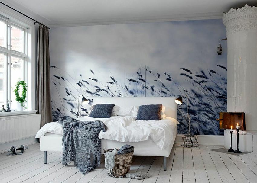 Стены будут выглядеть привлекательно если полотна правильно выбрать и качественно наклеить
