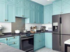 Шкаф для посуды для кухни: виды и функциональные особенности