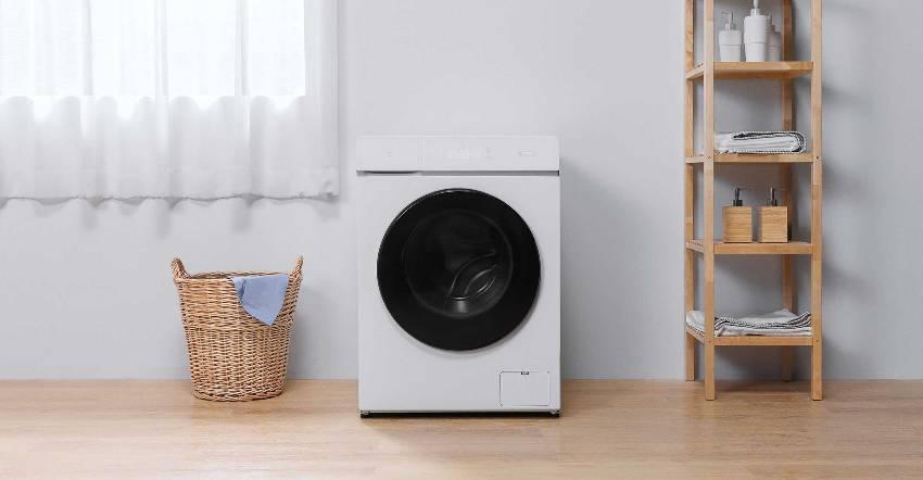 Стандартная ширина вертикальных стиральных машинок – 45 см