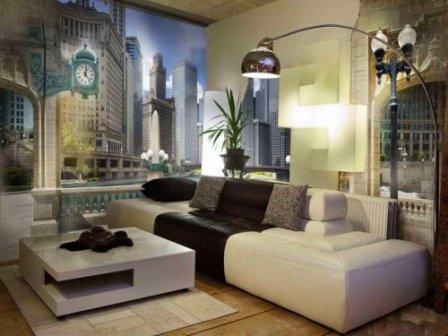 Фотообои: стилистические решения для интерьеров