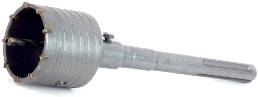 Перфоратор должен иметь мощность не менее 600 Вт, для использования насадок диаметром 68мм