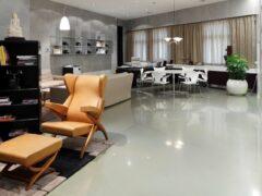 Наливной полиуретановый пол: оригинальное и долговечное украшение помещения