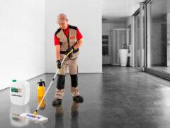 Обеспыливание бетонного пола: как продлить период эксплуатации основания