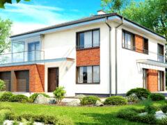 Проекты двухэтажных домов с гаражом: единство комфорта и лаконичной архитектуры