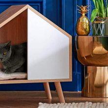 Домик для кошек своими руками: способы создания уютного места для животного