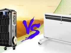 Конвектор или масляный радиатор — прочитал, узнал, купил. Что лучше, чем отличаются, сравнение и эффективность.
