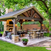 Мангальная зона на даче: обустройство удобного и красивого уголка для отдыха