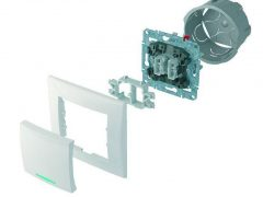 Монтаж двухклавишного выключателя света — 3 ошибки, схема, видео