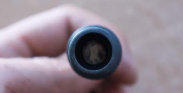 фотоэлемент на дизельной пушке для контроля пламени