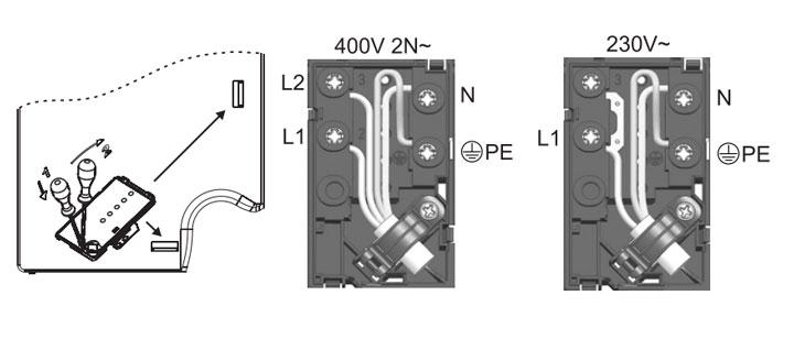 схема подключения варочной панели gorenje