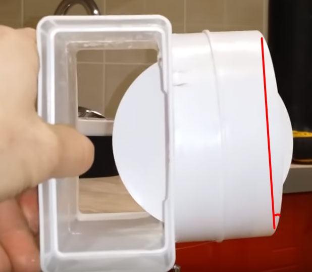 почему обратный клапан не закрывается на вытяжке угол установки