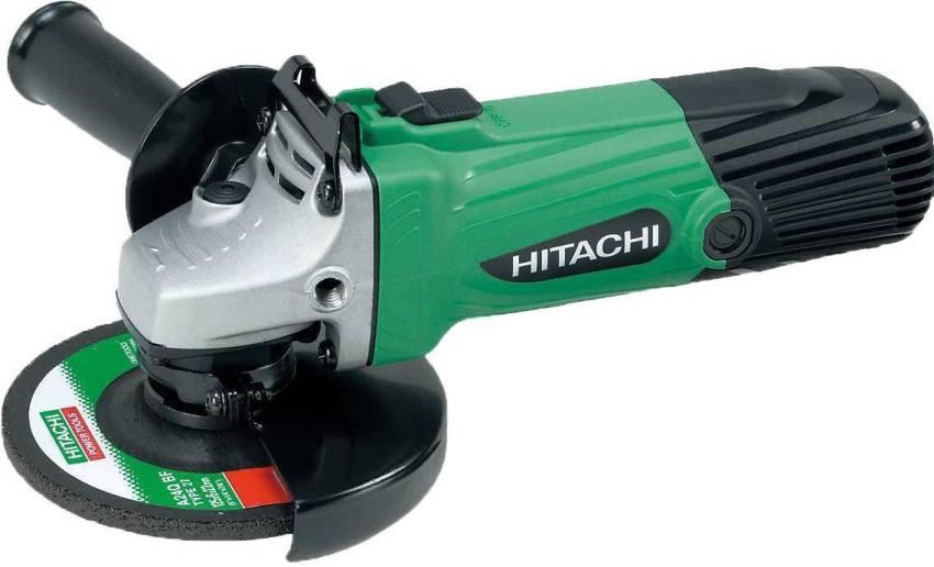 Набор шлифовальной машинки Hitachi G14DSL включает в себя дополнительную аккумуляторную батарею