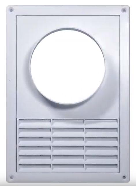 вентиляционная решетка с обратным клапаном под вытяжку