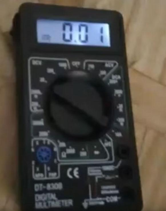 доработка подсветки на дисплей мультиметра