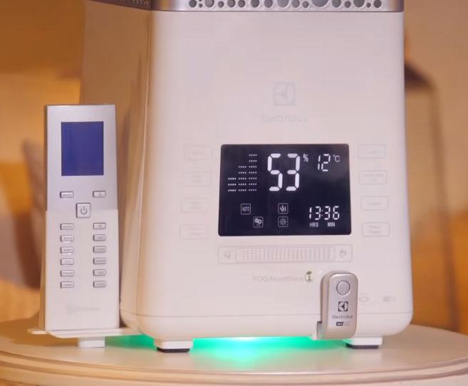 диспелй и электронное управление увлажнителем воздуха