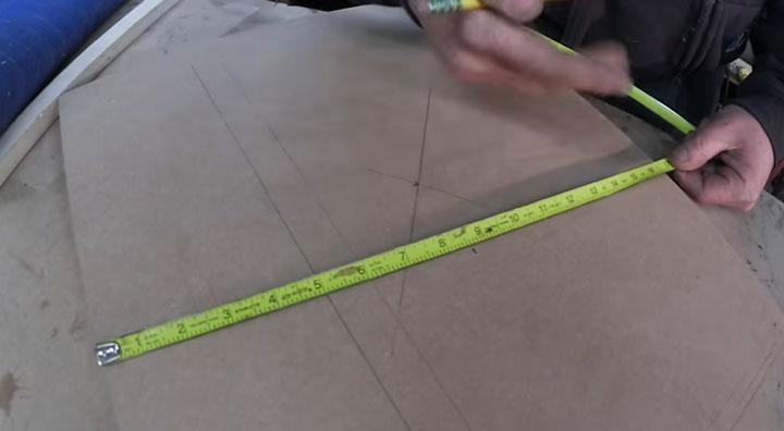 измерение длины поверхности