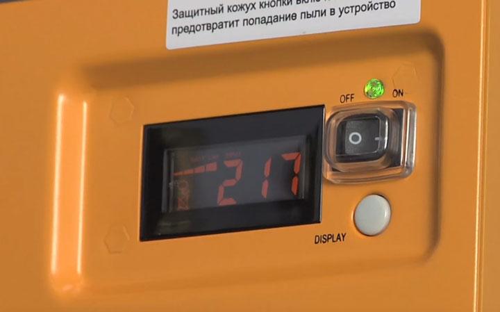 входное напряжение при подключении газового котла от ИБП