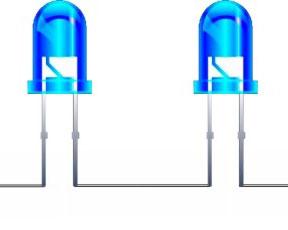 2 светодиода