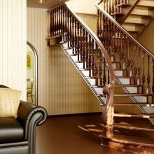 Деревянные перила для лестниц: когда естественная красота приносит комфорт