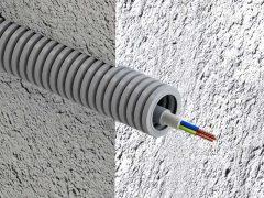 Прокладка кабеля в гофре — ошибки и правила. Когда гофра экономит. Затраты, характеристики, подбор диаметра, тип гофрорукава.