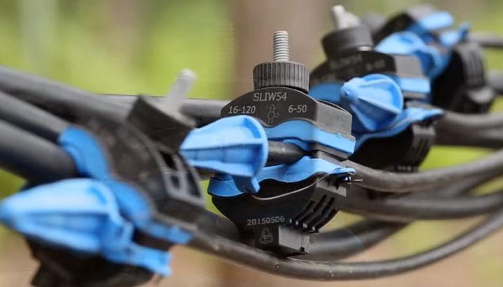 прокалывающие зажимы для кабеля СИП