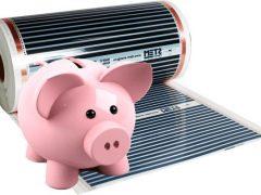 Сколько электроэнергии потребляет теплый пол — 5 способов сэкономить, расчет мощности и теплопотерь