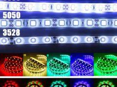 Чем отличаются светодиодные ленты – 3 характеристики – smd 3528, 5050, 2835, 5630