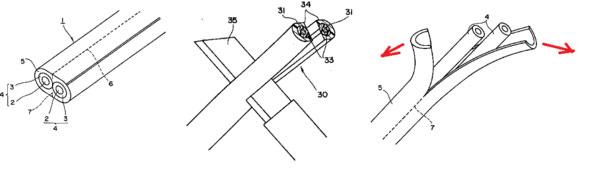 применение тупого ножа для снятия изоляции кабеля