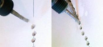 штробление стен перфоратором под проводку